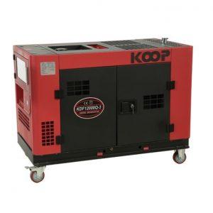 موتور برق دیزلی کم صدا کوپ مدل KDF12000Q