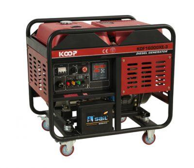 موتور برق دیزلی کوپ مدل KDF16000XE