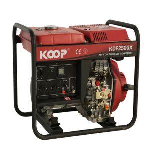 موتور برق دیزلی کوپ مدل KDF2500X/XE
