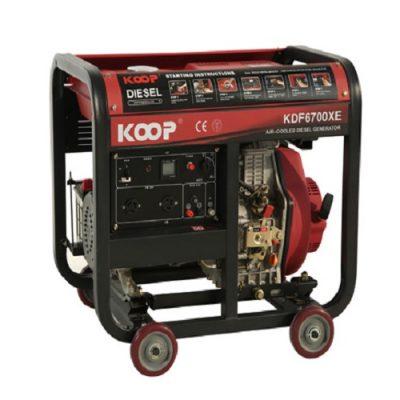 موتور برق دیزلی کوپ مدل KDF6700X/XE
